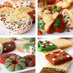 Dip & Drizzle Christmas Treats Ideas - Party City