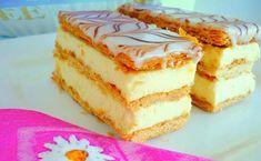 Millefeuille Recipe, Napoleons Recipe, Chocolate Raspberry Cake, Pizza Bake, Cake & Co, Cream Cake, Coffee Cake, Vanilla Cake, Love Food