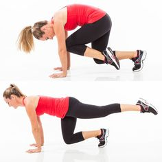 5-Minute Abs: Floating Knee Tuck