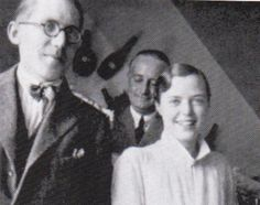 Charlotte Perriand with Le Corbusier, 1928