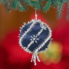 "Herrschner's Inc. Ornament Kit - ""Elegant Swirls"" (Set of 4) - Item # 510627"