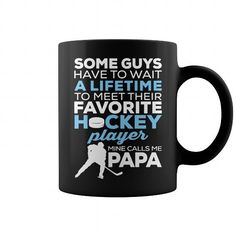 HOCKEY PAPA SHIRTS MUG