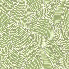 Papel pintado con hojas y plantas verdes fondrosas de la for Papel pintado leroy merlin 2017