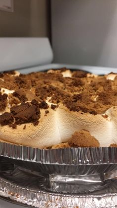 [Homemade] S'mores Pie