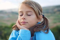 Photo about Smiling young girl with closed eyes. Image of child, little, candid - 28504757 Closed Eyes, Photoshop Effects, Children Images, Candid, Childhood, Dreadlocks, Hair Styles, Photography, Beauty