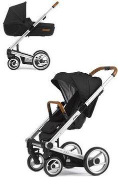 Mutsy Igo Urban Nomad Stroller + Carry Cot Bundle- Black