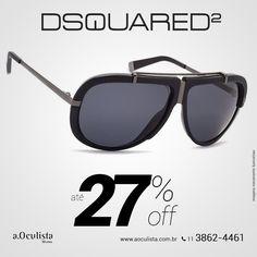 Óculos de Sol Dsquared com Até 27% de desconto  Compre pelo site em Até 10x Sem Juros e frete grátis nas compras acima de R$400,00 👉 www.aoculista.com.br/dsquared  #aoculista #dsquared #glasses #sunglasses #eyeglasses #oculos