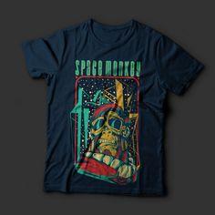 Space Monkey Shirt design | Tshirt-Factory