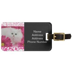 ==> reviews          	Kittens, Cats, Pink, Flowers, Monogram Luggage Tags           	Kittens, Cats, Pink, Flowers, Monogram Luggage Tags We provide you all shopping site and all informations in our go to store link. You will see low prices onDeals          	Kittens, Cats, Pink, Flowers, Monogr...Cleck Hot Deals >>> http://www.zazzle.com/kittens_cats_pink_flowers_monogram_luggage_tag-256071089065772239?rf=238627982471231924&zbar=1&tc=terrest
