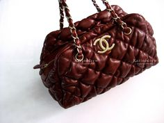 Chanel Bubble Bag | Limited Edition Red Tomato with Gold hardware