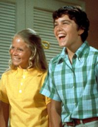 Another good one of Peter and Jan Brady