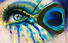 Crazy Peacock by PixieCold.deviantart.com