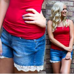 Everyone needs a cute pair of jean shorts for these hot June days!! #ootd #wiw #AthenaAttire