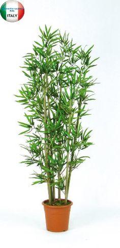 Bamboo Artificiale Verde - U.V.R.- H.150 cm - 6 canne - Vaso Incluso NewGreen http://www.amazon.it/dp/B00E1E4ZK2/ref=cm_sw_r_pi_dp_dDXkub1XRBDHK