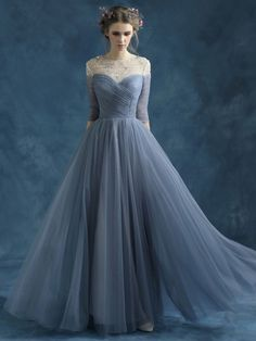 Blue Serenity Wedding Dress