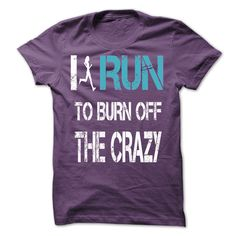 I run to burn off the crazy [hot] - #embellished sweatshirt #sweater blanket. I WANT THIS => https://www.sunfrog.com/LifeStyle/I-run-to-burn-off-the-crazy-[hot]-31467609-Guys.html?68278