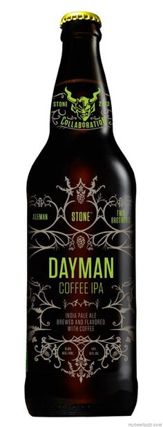 Stone / Two Brothers / Aleman Co-Brewing Dayman Coffee IPA. Coffee and beer. What a combo PD