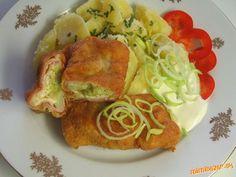 Šunkovo-syrová rolka s brokolicou
