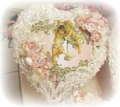 Image 4 of Crystal Roses Heart Boxes
