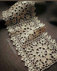 Photo shared by S.Güllüce on September 2019 tagging Granny Square Crochet Pattern, Crochet Diagram, Crochet Squares, Crochet Motif, Crochet Doilies, Crochet Flowers, Crochet Lace, Crochet Patterns, Chat Crochet
