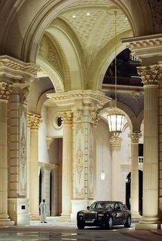 The Porte Cochere at The Ritz-Carlton, Riyadh