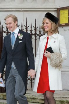 34. Archduke Imre and wife Kathleen, a beautiful combination Austria and Luxembourg have brought together.