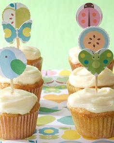 Carrot-Cake Mini Cupcakes