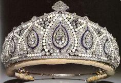 Indian tiara of Princess Marie Louise of Schleswig-Holstein