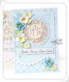 Karki komunijne DT Scrapiniec / Holy Communion cards DT Scrapiniec