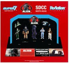 ToyzMag.com » SDCC 2013 : Les figurines retro-vintage Alien par Super7