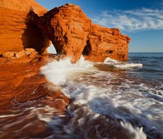 Prince Edward Island - 20 Most Beautiful Islands in the World - Travel Den Prince Edward Island, Canada Pictures, Red Sand Beach, Travel Forums, Pictures Of Prince, Island Pictures, The Perfect Getaway, Explore Travel, Beach Scenes