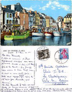 Le Croisic - Le Port - 1962 (from http://mercipourlacarte.com/picture?/2000/)