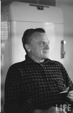 James Cagney, Martha's Vineyard 1955. LIFE Archives