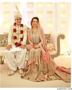 Bride's Lengha by Bunto Kazmi