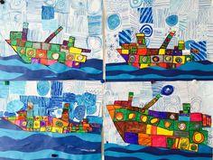 HUNDERTWASSER Projet d'art pour enfants
