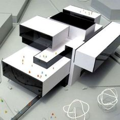 MTL Opera by Querkraft Architects  #architecture #building #opera #MTL #project #archmodels #architecturalmodel #architects #contemporary #archilovers #archidaily #model #modern #style #Querkraft #design #volumes #white #igers #beautiful #vscocam #instagood #love #arcfly
