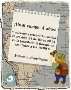 El Nido de Darío: Cumpleaños Exploradores I