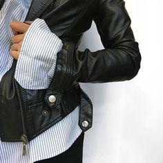 Favorite jacket ❤️ #LeatherJacket #Winter2016
