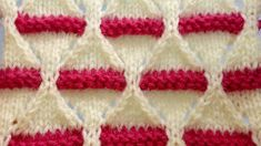 BEAUTIFUL Two Colour Knitting Pattern