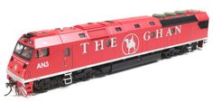 AN Class Locomotive. It would be good to put a Ghan consist together at some stage.