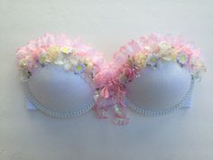 CHIYO (I) decorated rave bra