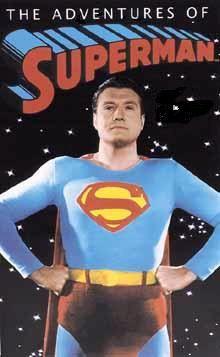 """Superman - George Reeves Frm bd: """"Memories of Good TV Viewing..."""""""