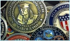 The Custom Coin Mint is a leading producer of personalized challenge coins which are used far and wide by various organizations around the globe. #Custom Coin Mint