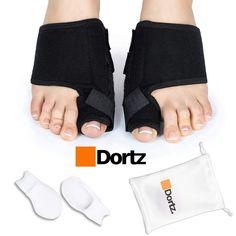 e9c540aa30867c Dortz Orthopedic Bunion Corrector - Bunion Splint for Bunion Relief - Bunion  Protector -