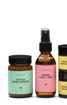 bath and beauty labels in various colors | Jacqueline Evans