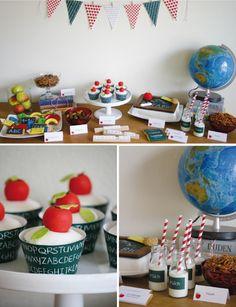 Ideen für eine Einschulungsfeier zum ersten Schultag! #Schulanfang