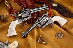 Another brace of Colt Single Action Army revolvers