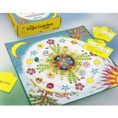 The Yoga Garden Game. Great winter indoor game to keep kids moving!