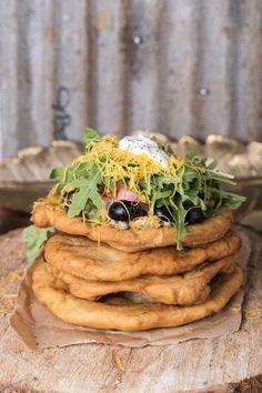 Indián sült kenyér   Street Kitchen