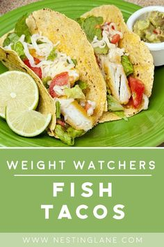 Fish Taco Coleslaw Recipe, Best Fish Taco Recipe, Fish Taco Sauce, Weight Watchers Tilapia, Weight Watchers Lunches, Weight Watcher Dinners, Slaw Recipes, Seafood Recipes, Mexican Food Recipes